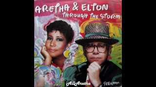 "Aretha Franklin - Through The Storm / Come To Me - 7"" Germany - 1989"
