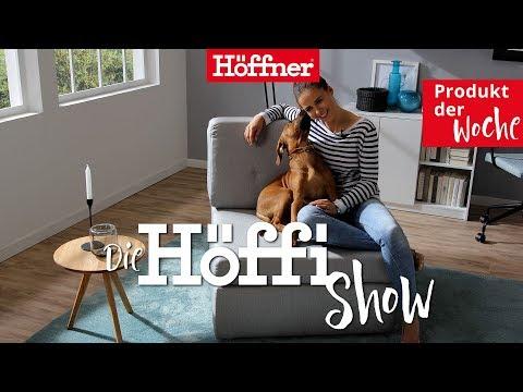Die Höffi Show // Schlafsessel Sabia zum Gästebett umbaubar