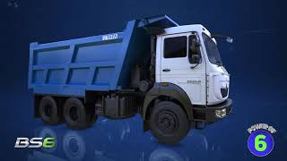 Tata Motors M&HCV 28T Tippers   BS6 Range