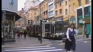 preview picture of video 'Trolleybuses in Nancy 1996 A film by Fred Ivey'