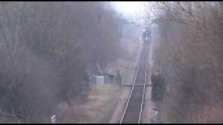 preview picture of video 'Britannia at Rossett 16th March 2011'