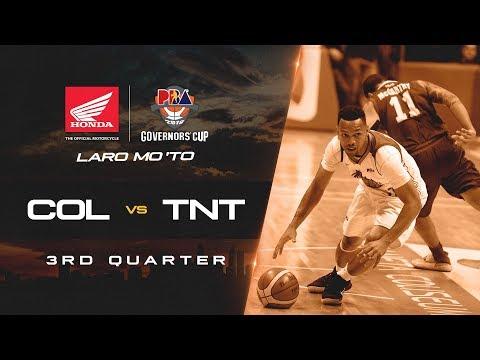 Columbian Dyip vs. TNT – Q3 | PBA Governors' Cup 2018