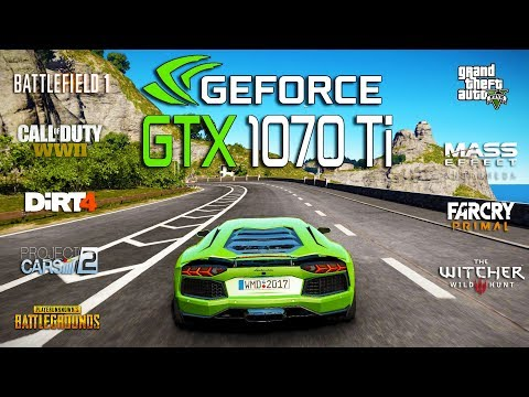 NVIDIA GTX 1070 Ti Test in 9 Games (i5 8600k)