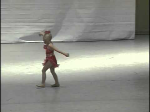 4 year old dance solo