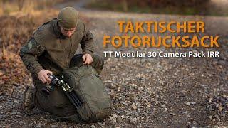 Taktischer Fotorucksack - TT Modular 30 Camera Pack IRR