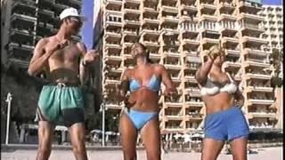 Nigel & 2 Spicey Girls (August 1998)
