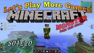 Minecraft Feed The Beast Monster S01E20 - Big Big Big Reactor, Mining Laser & Power Armor
