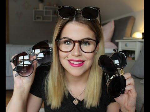 Meine Brillen & Sonnenbrillen Sammlung | + TRY ON!