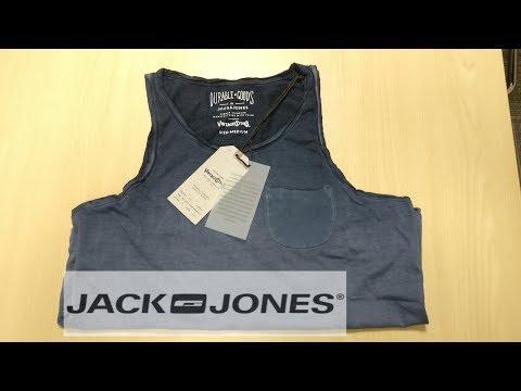 Jack & Jones Navy Blue Solid Slim Fit Round Neck T-Shirt Unoxing