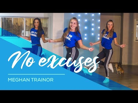 No Excuses Meghan Trainor Easy Fitness Dance Choreography Baile Coreo