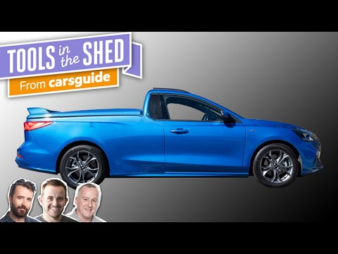 Podcast: What can we expect from Ford's Focus-based ute? - Tools in the Shed ep. 124