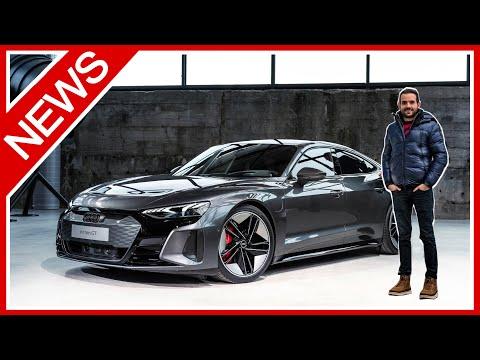 Audi e-tron GT und RS e-tron GT: Erste INFOS zum 646 PS starken Elektrosportler! - NEWS