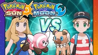 Stufful  - (Pokémon) - Pokemon Sun and Moon - 3DS Gameplay Walkthrough PART 20 - Rival Battle VS Dani - Stufful - Pelago