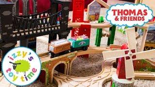 Thomas and Friends   Thomas Train Transforming Bridge with Brio and KidKraft   Fun Toy Trains 4 Kids