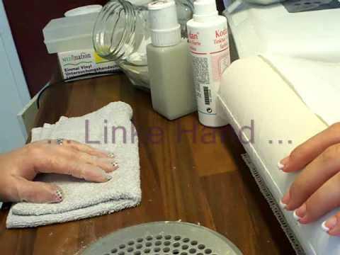 Die Salbe von gribka auf der Haut der Candiden