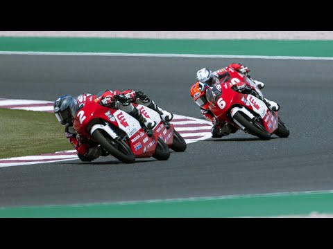 Asia Talent Cup 第1戦カタールレース2動画
