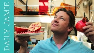 Let's talk about pomegranate: Jamie Oliver