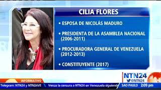 EE. UU. sancionó a Cilia Flores y otros cinco funcionarios de Maduro