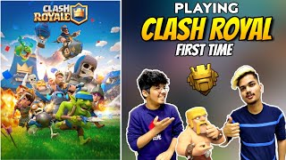 PLAYING SUPERCELL CLASH ROYALE AFTER 2 YEARS AM I STILL PRO IN CLASH ROYALE || TWO SIDE GAMERS