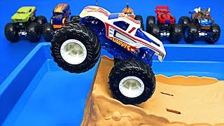 Muddy Monster Trucks for Kids - Monster Truck Car Wash - Organic Learning