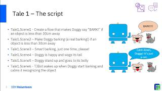 Tale #1 How to instruct Doggy to act as a watchdog (that has to be calmed by TJBot)