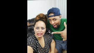 Husband Does Wife's Makeup ( Gone Wrong)