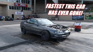 1000Hp Prelude Makes Its FASTEST PASS EVER!