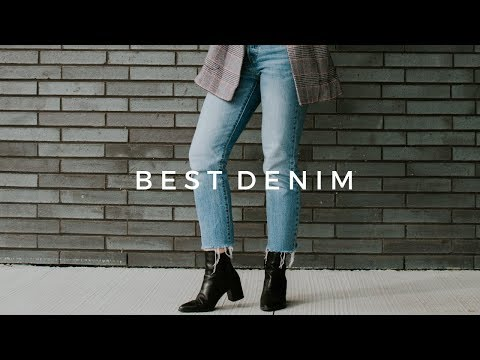 BEST JEANS + TRY ON | levis, citizens of humanity, urban outfitters, topshop
