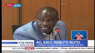 EACC, AG Paul Kihara Kariuki tell off DP Ruto's allies over graft investigations