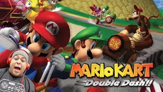 HOLD UP! I DON'T REMEMBER THIS BEING THAT HARD [PAUSE] [MARIO KART: DOUBLE DASH]
