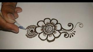 Easy simple beautiful mehndi designs for full hands tutorials:Matroj Mehndi Designs