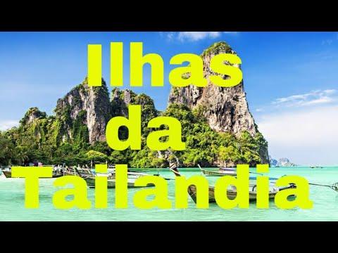 As 10 ilhas mais bonitas da Tailndia- vdeo de viagem