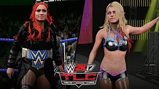 WWE TLC 2016: Becky Lynch vs. Alexa Bliss (SmackDown Women's Championship)