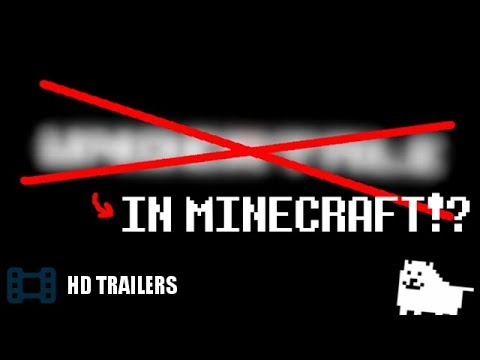 Project UT-MC: Undertale in Minecraft (Pacifist) - 20+ AUs