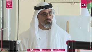 خالد بن محمد بن زايد يتفقد مركز أبوظبي للشباب