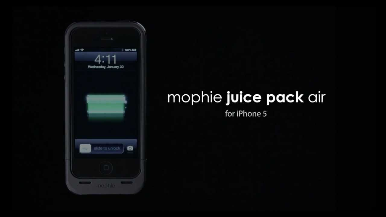 Mophie's New iPhone 5 JuicePack Improves Just A Bit On The Old One