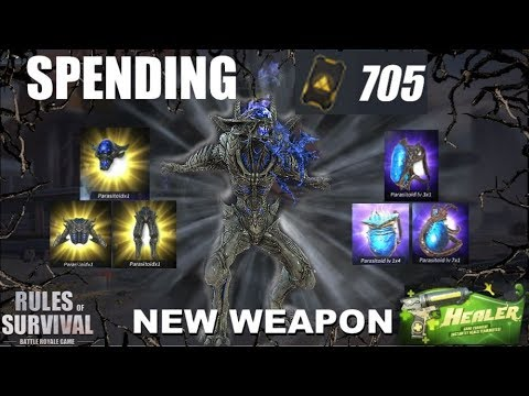 """ALIEN SKIN + NEW WEAPON!"" SPENDING 705 ADVANCED TICKETS (ROS UPDATE)"