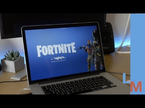 Can you play Fortnite on a 5 year old MacBook Pro? Gaming Test