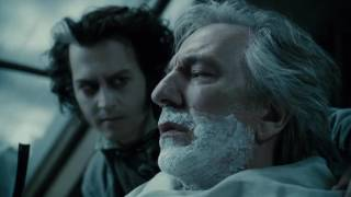 Sweeny Todd shaves Judge Turpin