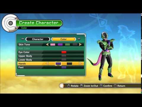 Dragon Ball Xenoverse criando Majin Cellza (creating  majin cellza)