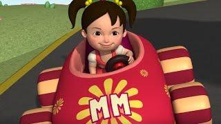 Английский язык для малышей - Автогонка (Race Car) - учим английский
