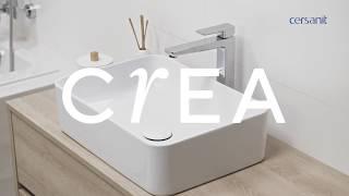 Умывальник встраиваемый CREA 38 D круглый от компании CERSAN.BY - видео