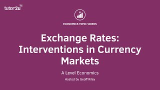 Exchange Rates: Interventions in Currency Markets