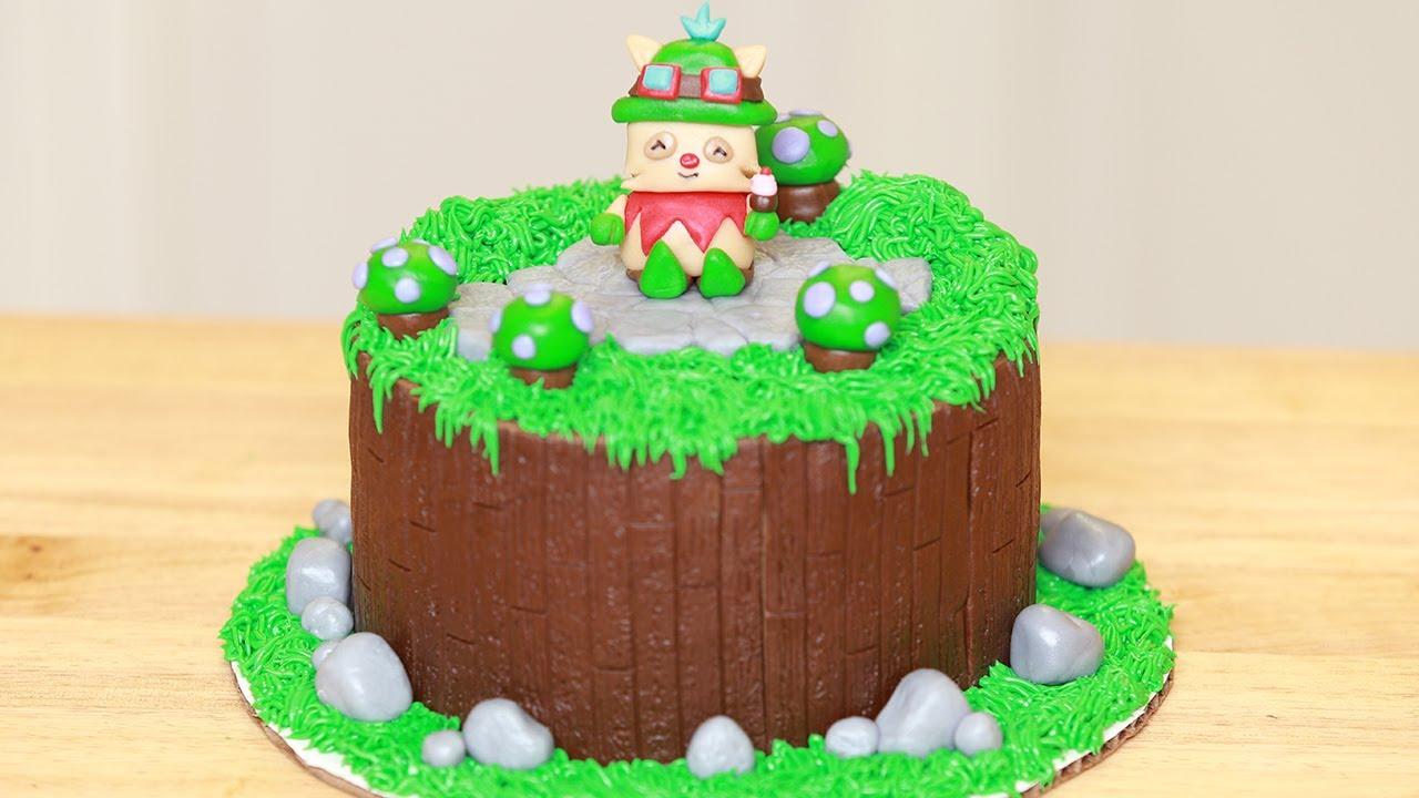 LEAGUE OF LEGENDS CAKE - NERDY NUMMIES thumbnail