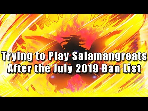 Trying to Play Salamangreats After the July 2019 Ban List