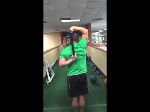 Tumbling Loops Tricep Extensions