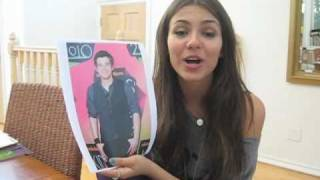 Виктория Джастис, EXCLUSIVE! Victoria Justice Plays A Game With BOP & Tiger Beat!