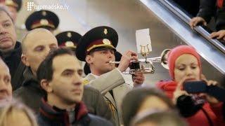 Військовий оркестр влаштував флеш