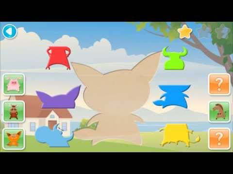 Video of SHAPES MATCH Preschool Puzzle