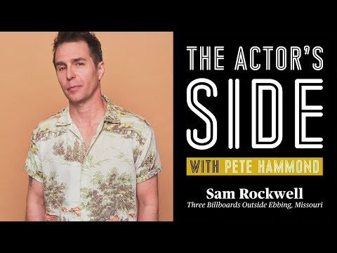 Sam Rockwell - The Actor's Side with Pete Hammond